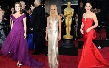 Платья Оскар - 2011